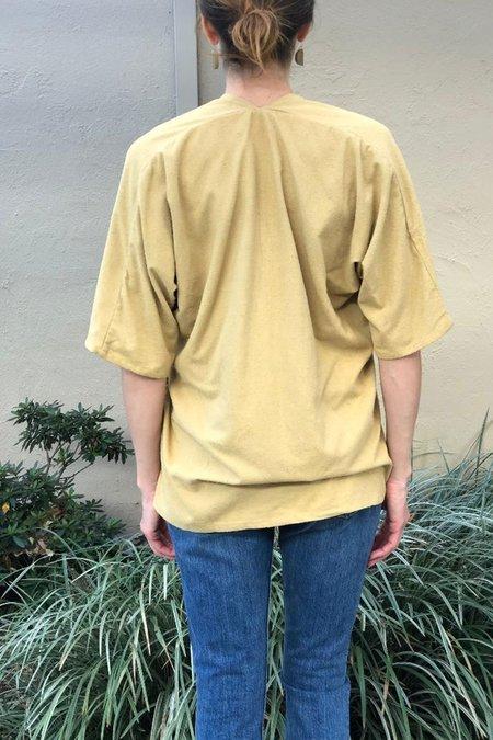 Miranda Bennett Silk Noil Muse Top - Palomino