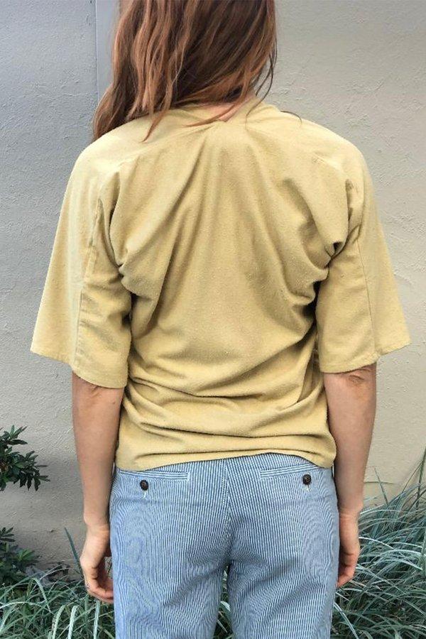 Miranda Bennett Petite Silk Noil Muse Top - Palomino
