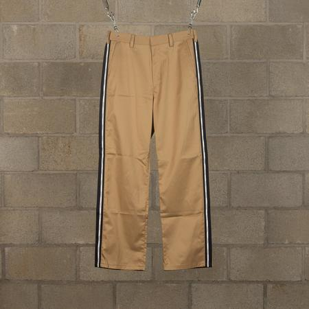 JohnUNDERCOVER Side Branded Casual Trousers - Beige