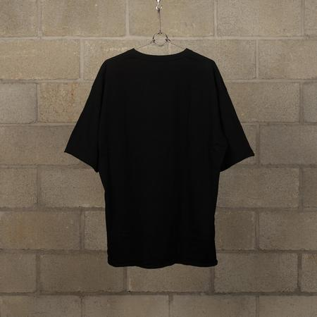JohnUNDERCOVER Chest Graphic Big T-Shirt - Black