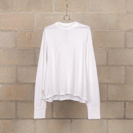 Digawel Short Length Long Sleeve T-Shirt - White