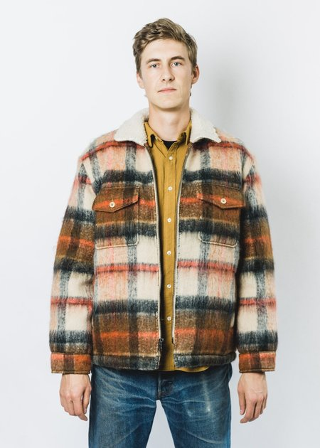 Levi's Made & Crafted SHERPA RANCH COAT - PLAID