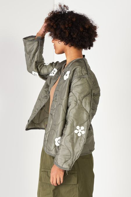 Michons Margot x West End Select Shop Jacket - Kamon Flowers