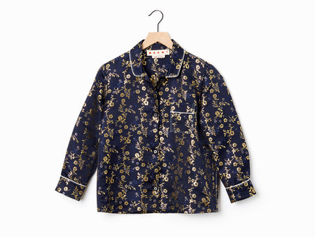 Marni Jacquard PJ Shirt - Night