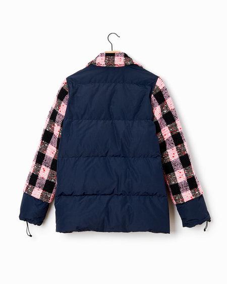 Marni Plaid Jacket - Pink/Navy