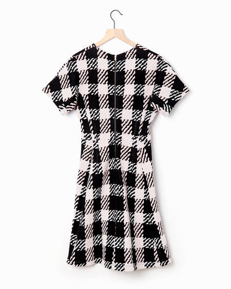 Marni Houndstooth Dress - Black/White