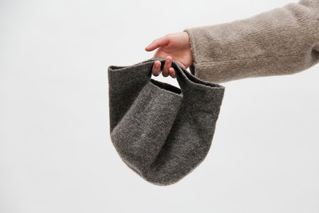 Lauren Manoogian Woolen Baby Bowl Bag - Burl