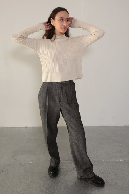 Daēza Rib Sweater - Oat