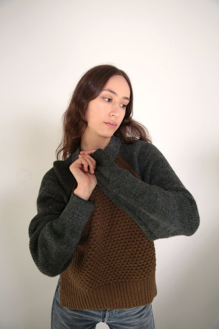 Daēza Seed Sweater - Olive