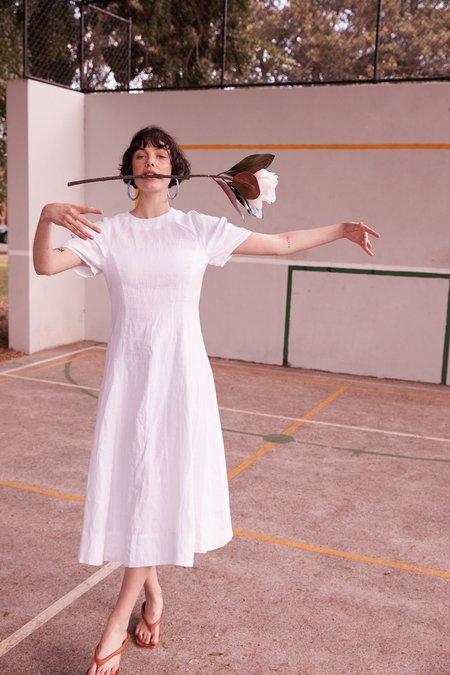 hej hej The Indiana Dress - White
