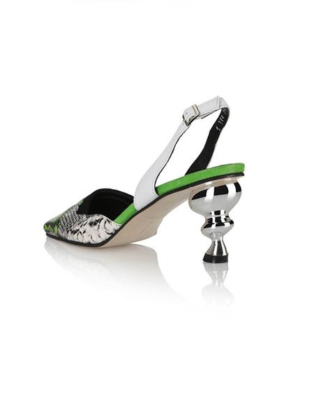 Yuul Yie Lissom Sandals - Multi Green/Python