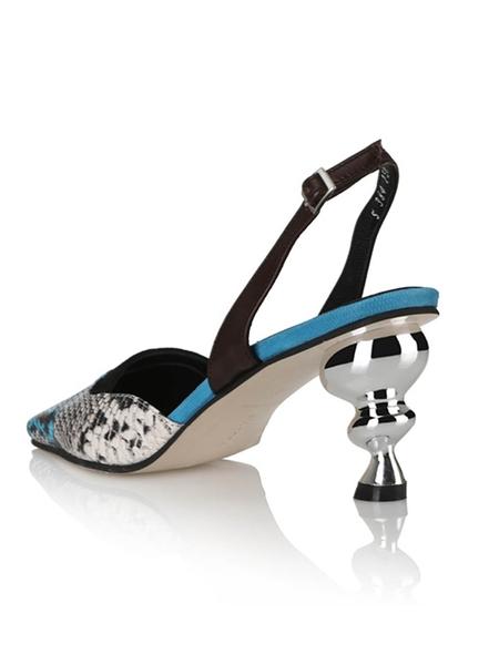 Yuul Yie Lissom Sandals - Multi Blue/Python