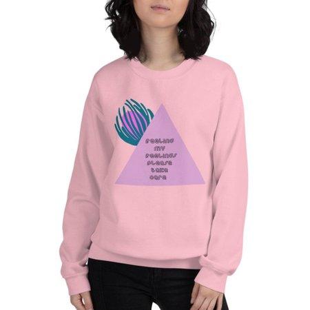 Unisex Myths of Creation Feelings Sweatshirt