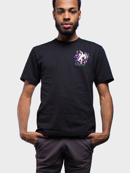 Carne Bollente Adam in Eve T-Shirt - Washed Black