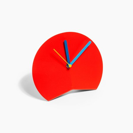 Poketo Desk Clock - Red