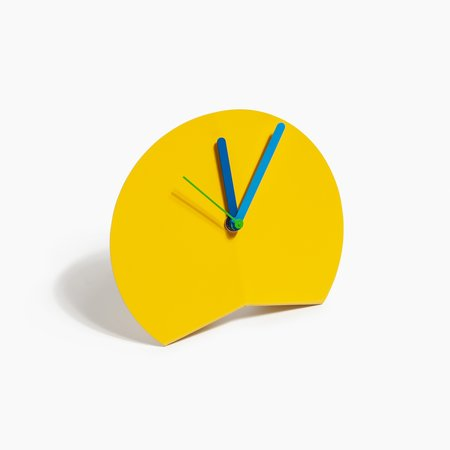 BLD Desk Clock - Yellow