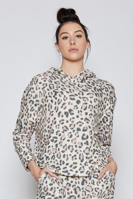 Sam & Lavi Margaret Top - Pink Leopard