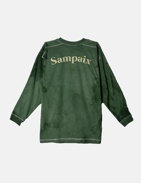 Sampaix Classic Long Sleeve T-Shirt - Static Green