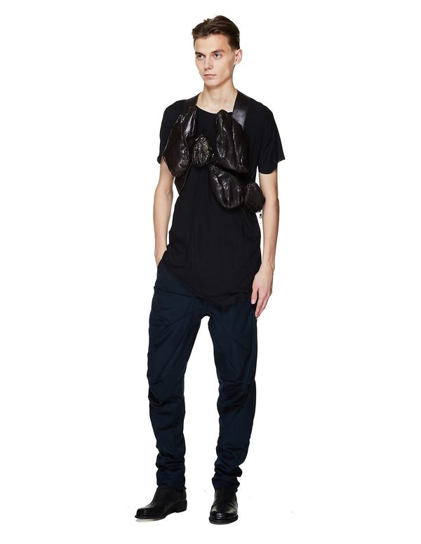 Leon Emanuel Blanck Multi Pocket Vest Bag - Black
