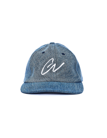 Greg Lauren Denim GL Cap - Blue