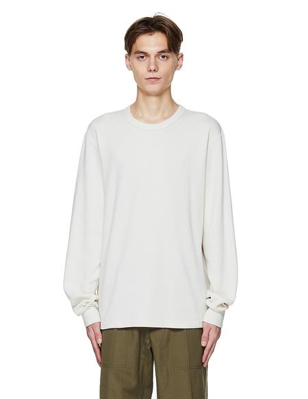 Visvim 3 Pack Cotton Long Sleeve T Shirts - ivory