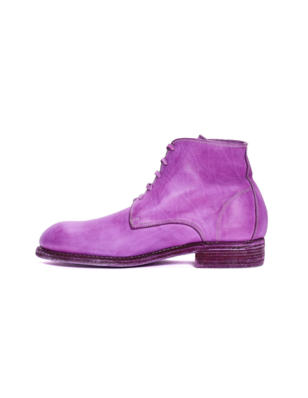 Guidi Leather Boots - Purple
