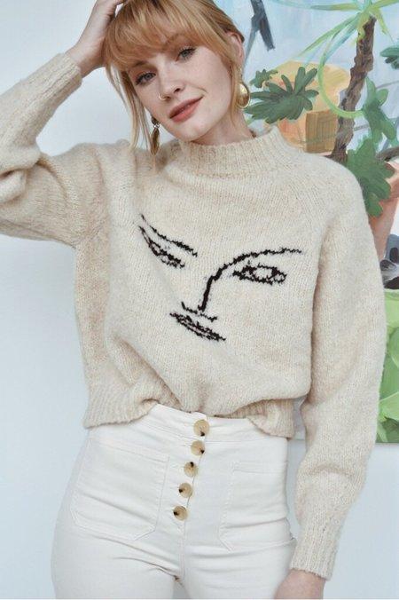 Paloma Wool Pieiro Sweater in White