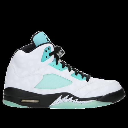 Air Jordan 5 Retro Island Green Sneakers