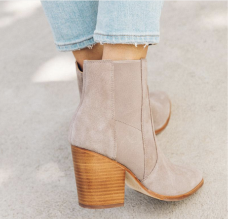 Soludos Emma Boot - Mineral Grey