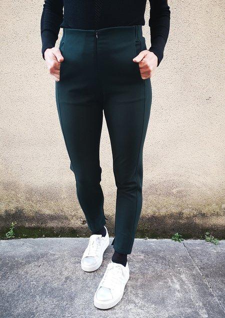 Berenik HEAVY STRETCH TROUSERS - dark green
