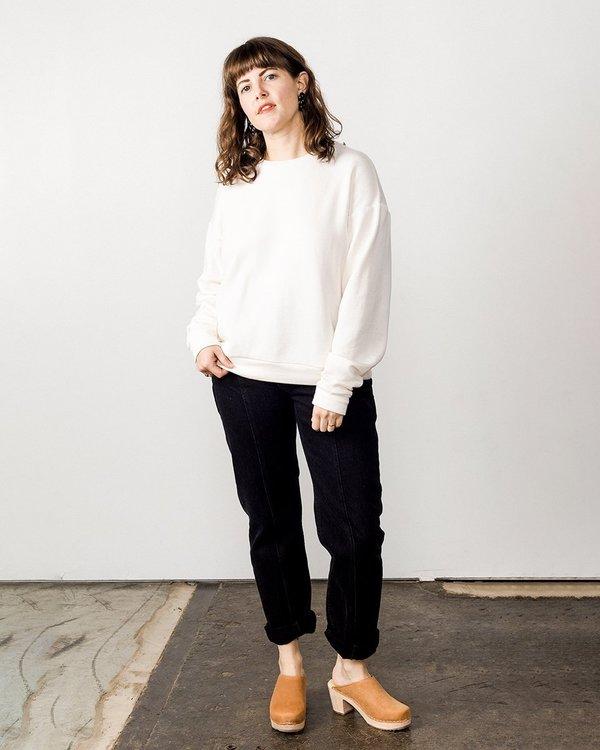 Corinne Boyfriend Sweater - Natural