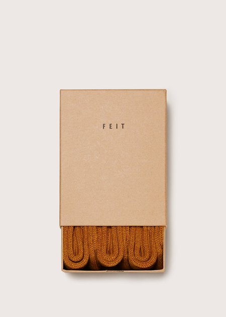 FEIT 3 Pack Wool Socks - TAN