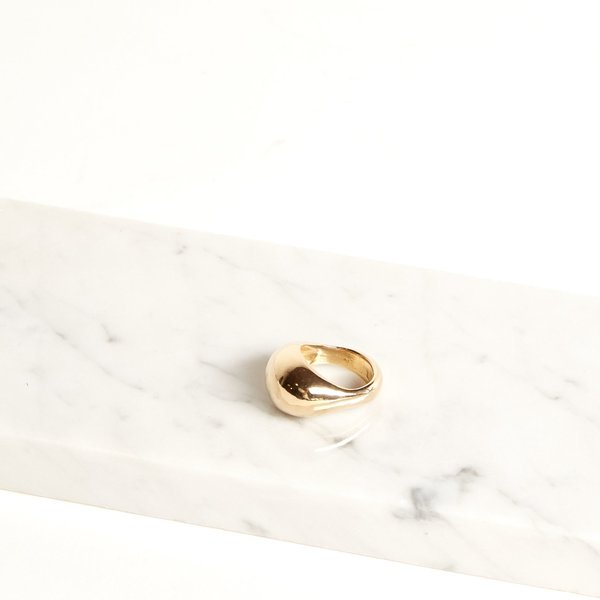 Amber Seagraves Seaworthy Arium Ring - brass
