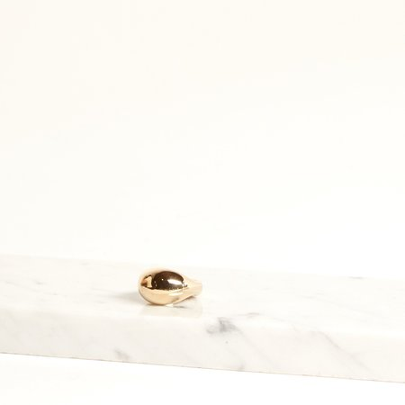 Amber Seagraves Seaworthy Arium Ring - brass