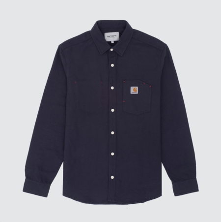 Carhartt Wip L/S Tony Shirt - Black