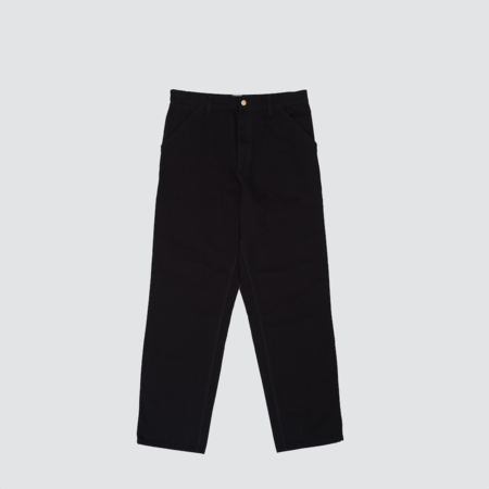Carhartt Wip Single Knee Pant - Black Rinsed