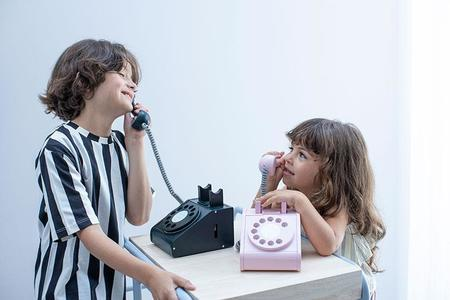 KIDS kiko+ & gg* Telephone - Black