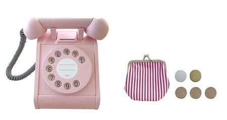 kiko & gg* Telephone - Pink
