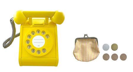 Kids kiko & gg* Telephone - Yellow