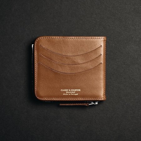 Classic & Courtois Slim Holder - Tan