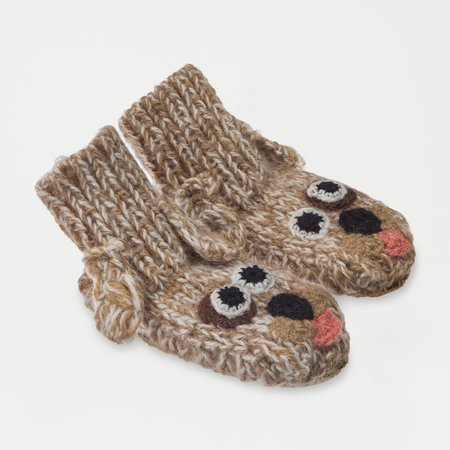 Kids Ariana Bohling Baby Alpaca Slipper Dog