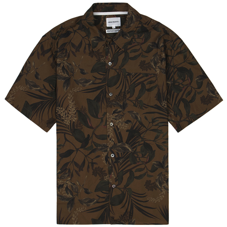 Norse Projects carsten print - Russet