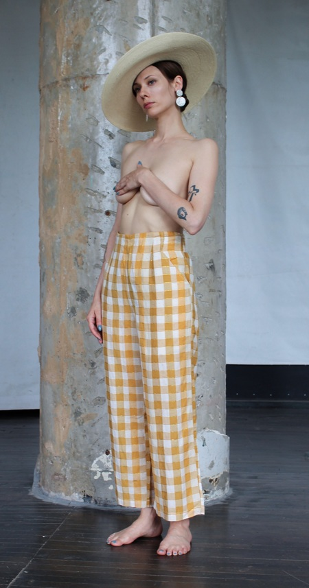 Ace & Jig Polly Pant - Yellow