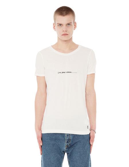 L.G.B. Cotton Printed T-shirt - White