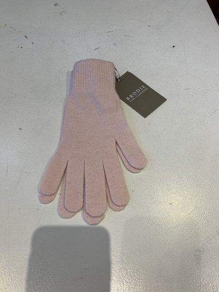 Brodie Cashmere Classic Brodie Gloves - Cherry