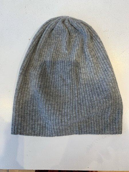 Brodie Cashmere Jo's Hat - Mid Grey