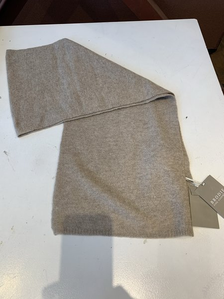 Brodie Cashmere Snug Scarf - Organic Light Brown