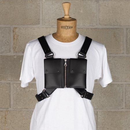 Fleet IIya Zip Front Pocket Harness - Black/Silver