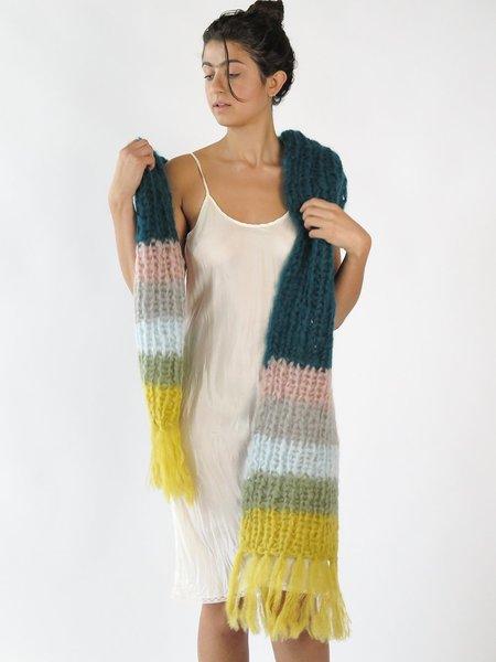 maiami basic scarf - green