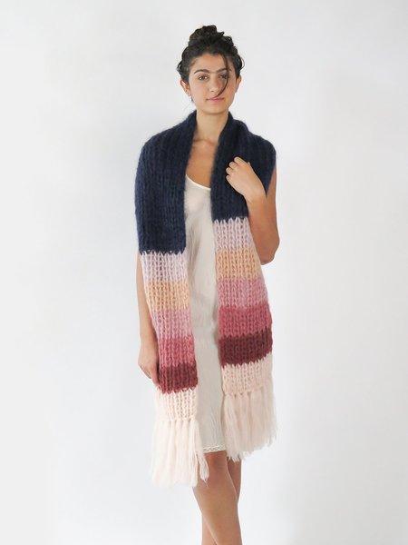 maiami basic scarf - navy